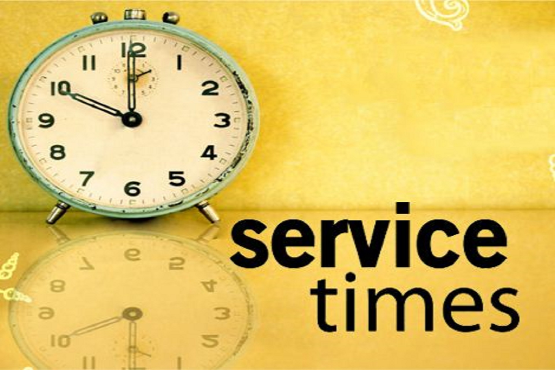 Sunday and weekday services